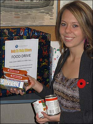 Port Hope Dental's Holiday Food Drive
